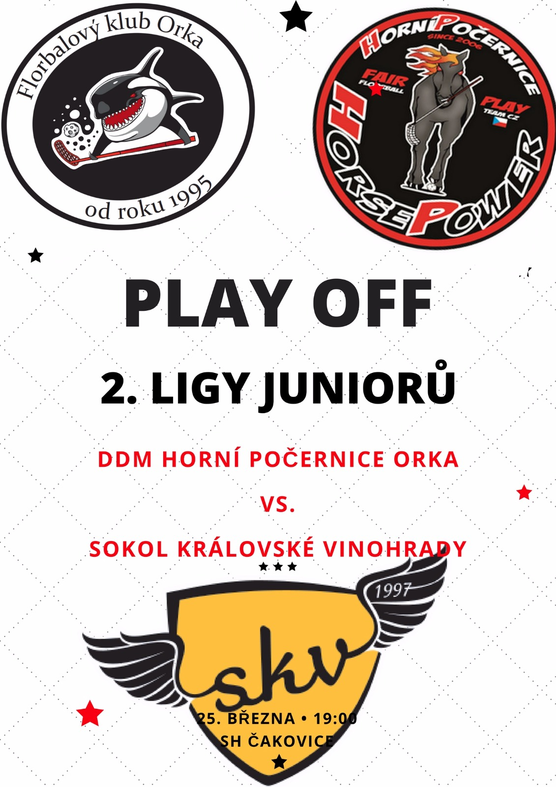 Junioři play-off 2017